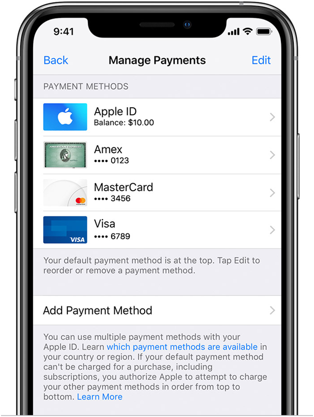 Adding-paypal-to-Apple-ID