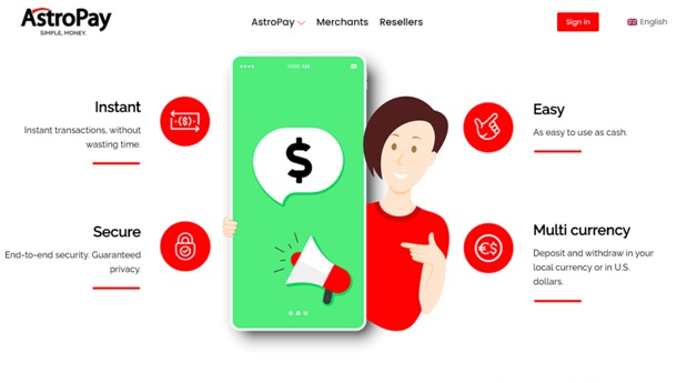 Advantages of using Astropay