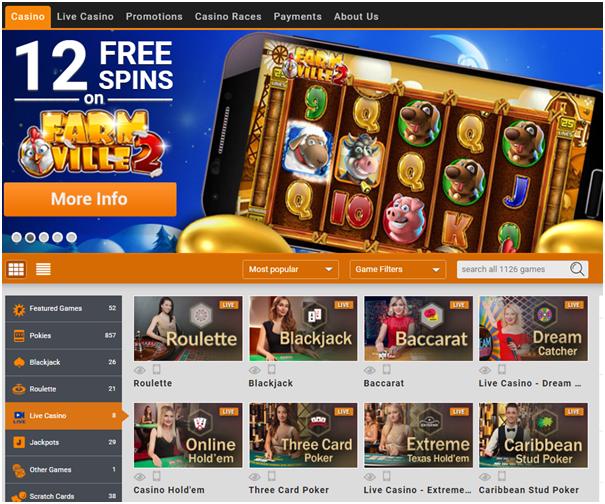 Emu Casino-Play pokies with mobile