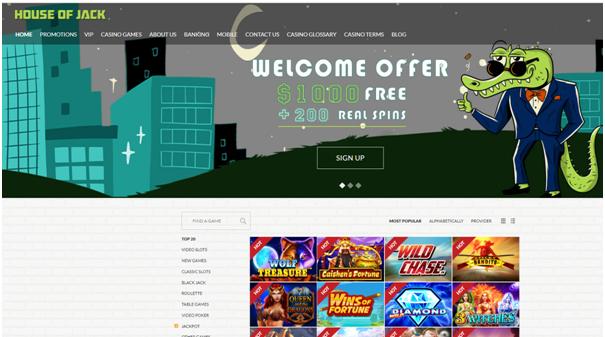 House of Jack- AU Online Casino