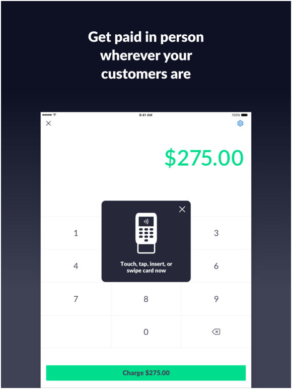 Invoice2go app- PayPal here- how to get started