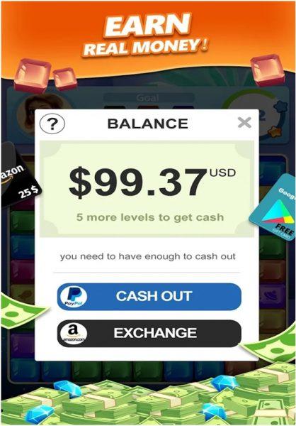 Lucky Diamond Game App