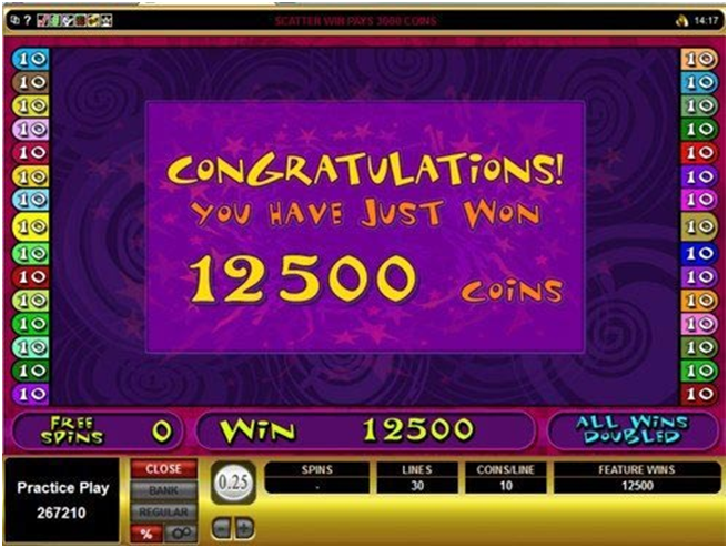 Mad hatter pokie wins