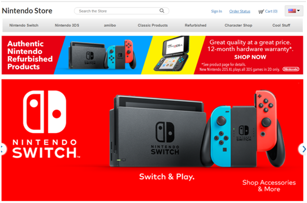 Paypal linked with Nintendo account