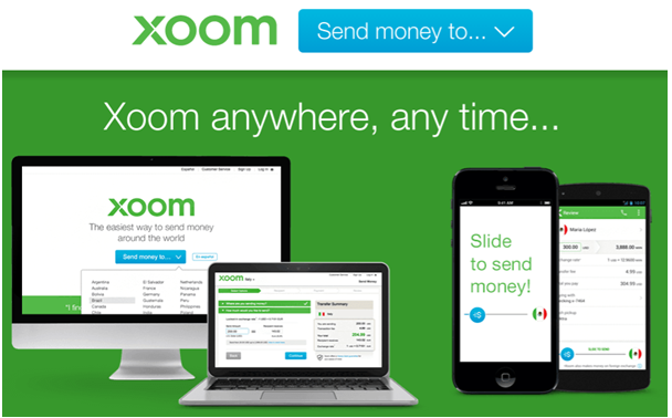 PayPal Xoom- How to send money