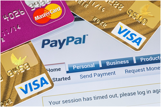 how to add credit debit card to paypal