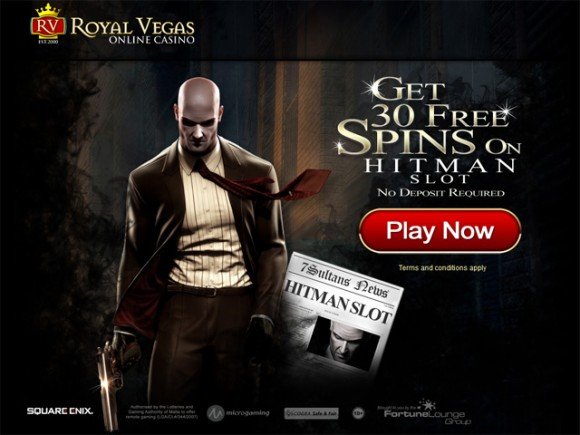 royal vegas casino 30 free spins