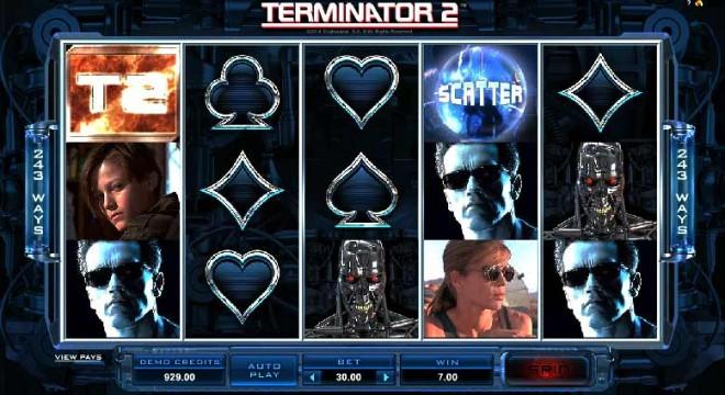 terminator 2 pokies